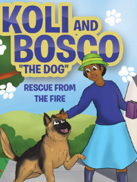 """Book cover of Koli and Bosco """"the dog"""" by None"""
